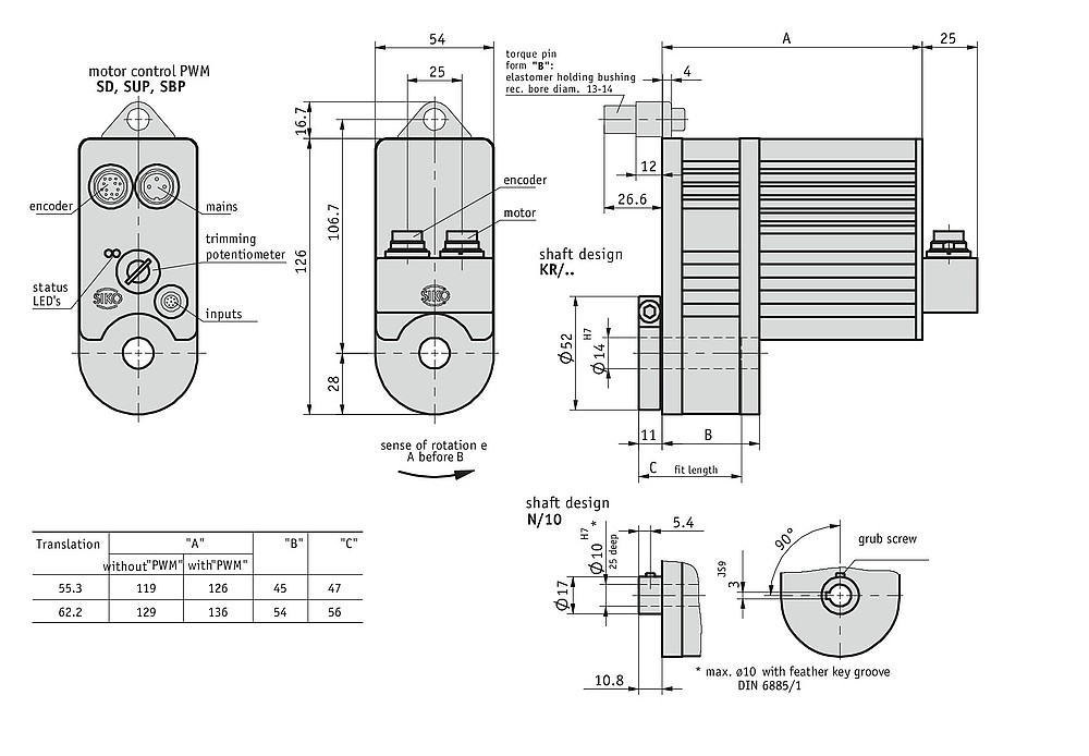 Actuator AG02 Incremental