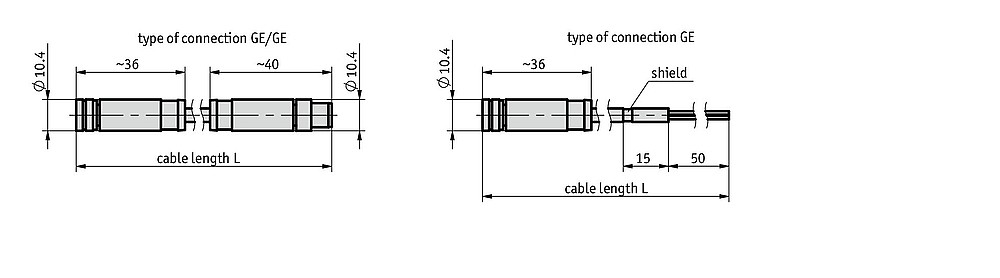 Cable extension KV04S1