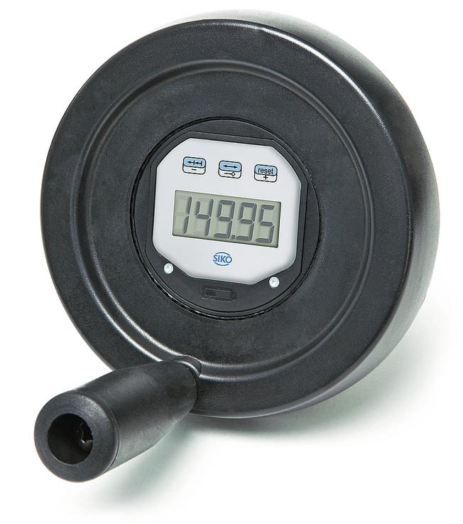 Digital Position Indicator : Dke electronic control knob siko global