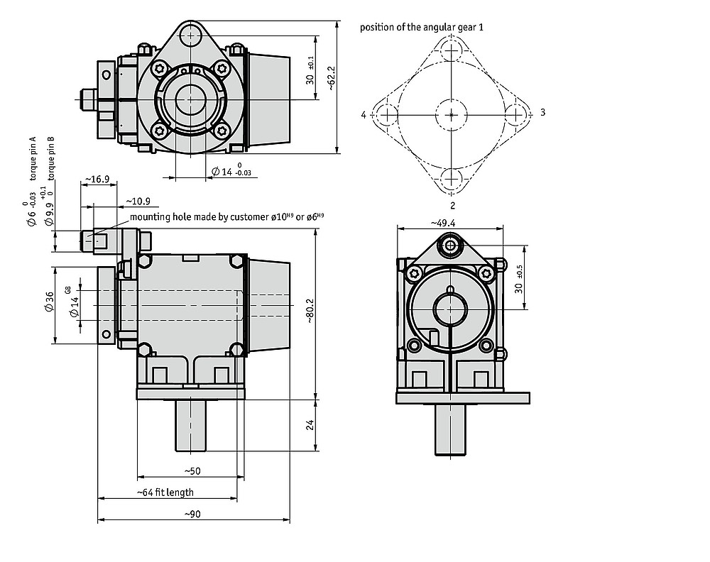 angular gear WG05