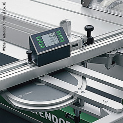 Measurement and display systems for wood working