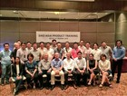 Product training for Southeast Asian distributors