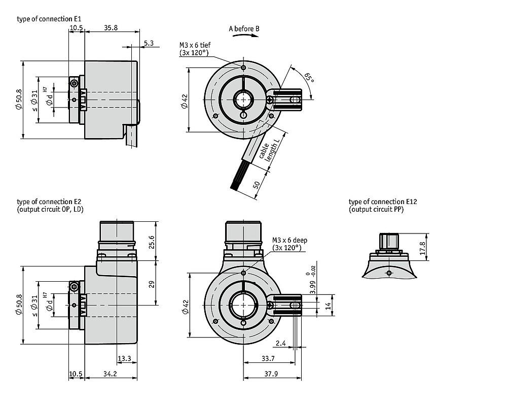 ih5815 incremental encoder