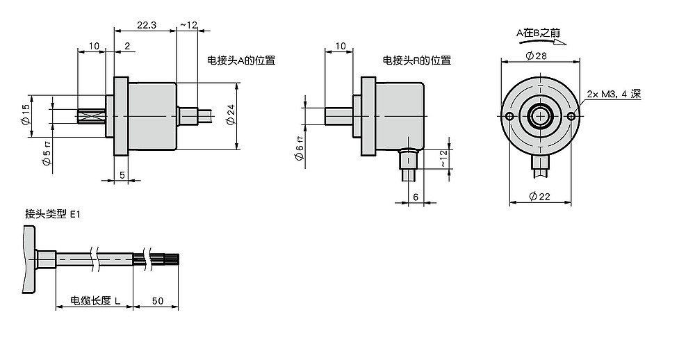 增量式编码器 IV2800