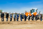 Groundbreaking Ceremony for the new SIKO building in Bad Krozingen, Germany
