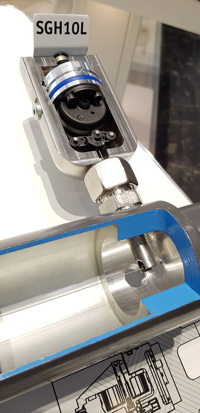 SGH10L Wire-actuated encoder   siko-global.com